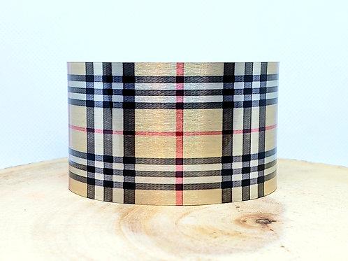 Scottish Cage Tartan Cuff Bracelet