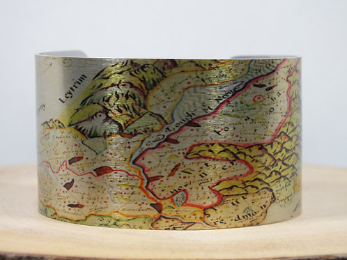 Maghery Boy Northern Ireland Map Cuff Bracelet