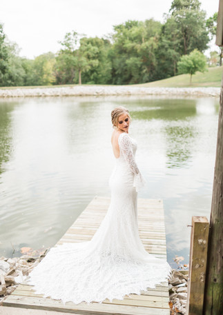 Photo of Bride at FarmPond Inn by GG Photography
