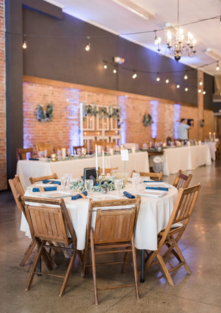 Photo of table details by GG Photography