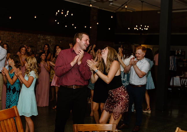 Dance party photo by Lindsay Williams Photography