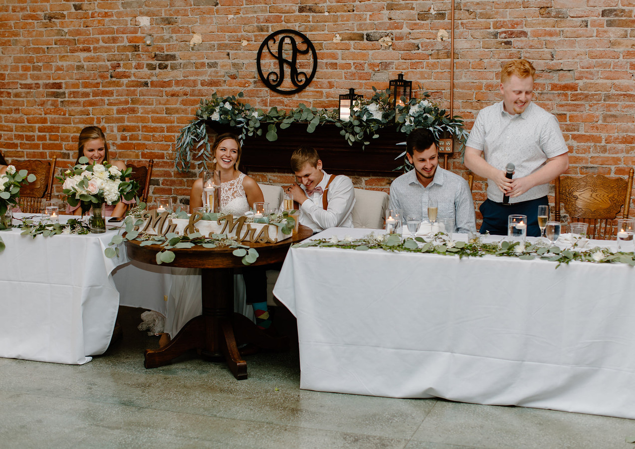 Toasts photo by Lindsay Williams Photography
