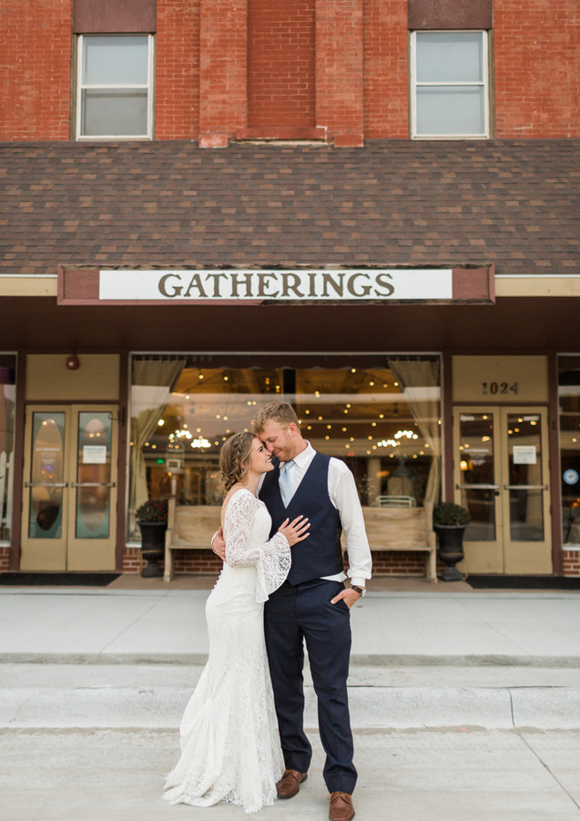 Photo in front of Gatherings by GG Photography