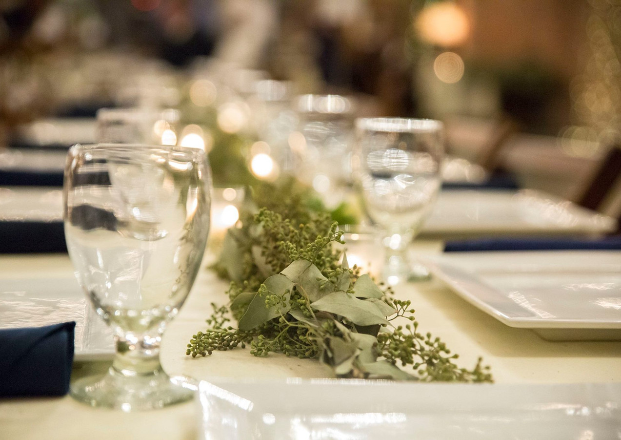 Table details photo by Bre Ashley Photography