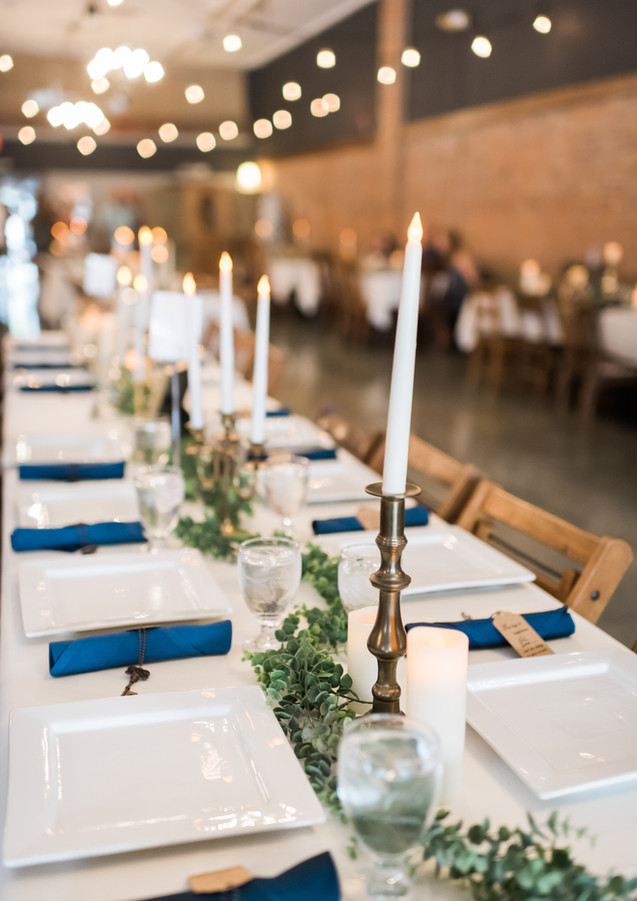 Photo of table decor by GG Photography