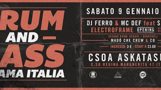09/01 DNB CHIAMA ITALIA @ ASKATASUNA (TORINO)