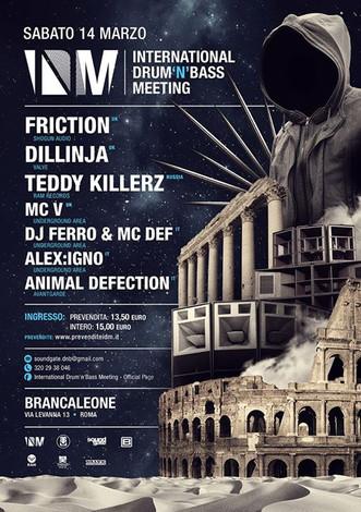 14/03 IDM @ BRANCALEONE (Roma)