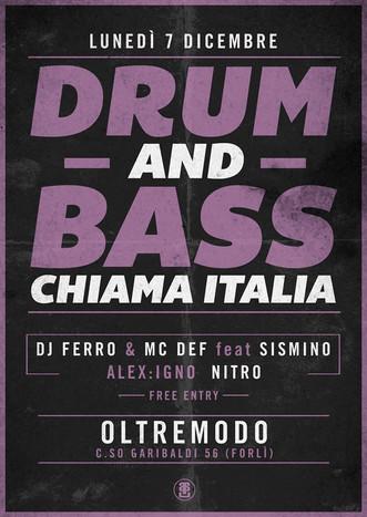 07/12/15 Drum'N'Bass Chiama Italia @ Oltremodo (Forlì)