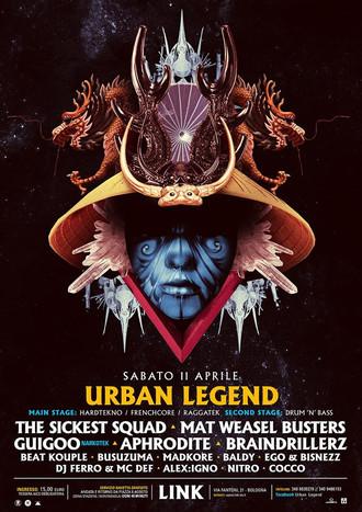 11/04 URBAN LEGEND @ LINK (Bologna)