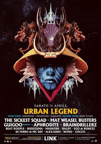 11/04 URBAN LEGEND @ LINK (Bologna)