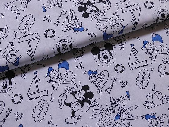 Mondmasker - Mickey and Donald