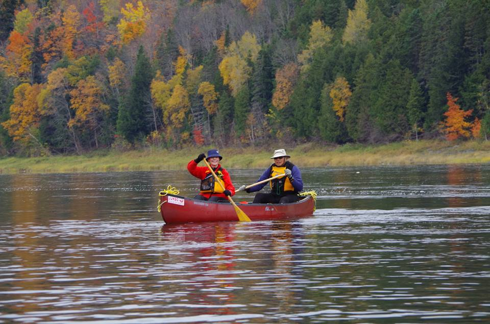 Fall Foliage Canoe Tripping