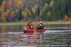 Fall Foliage Canoe Tripping