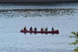 Big Canoe practice