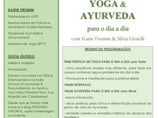 Yoga e Ayurveda para o dia a dia
