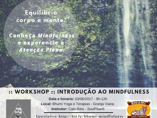 Introdução ao Mindfulness, dia 3 de junho