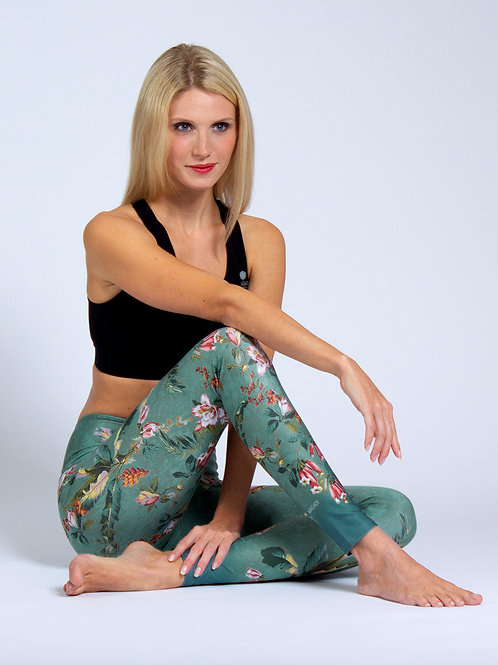 Yoga Leggins Secret Garden
