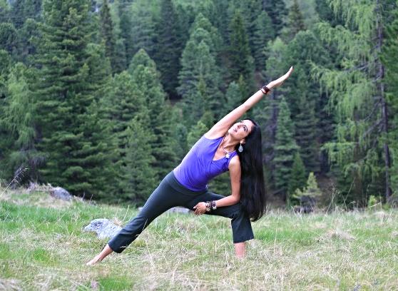 Yoga am Berg Aquila Camenzind