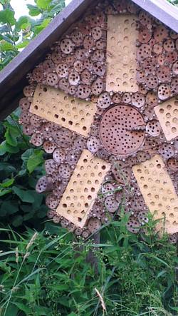 Wildbienen Haus