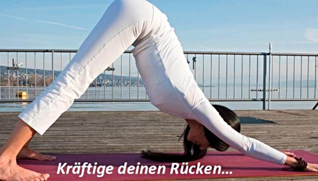 Aquila Camenzind Yoga für den Rücken