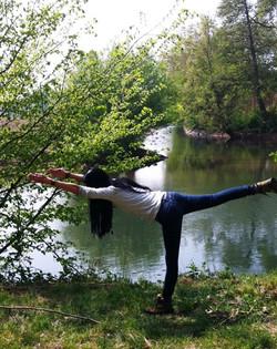 Waldbaden Aquila Camenzind Yoga