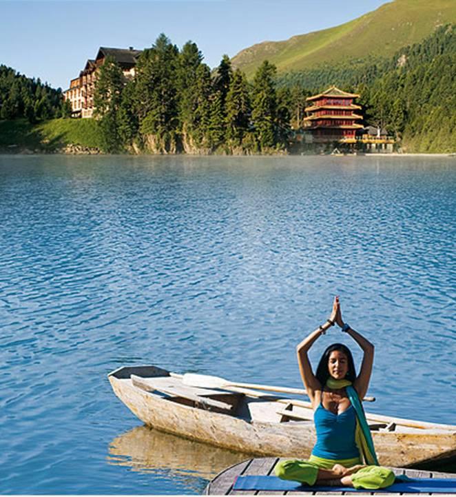 Yoga am Berg Aquila