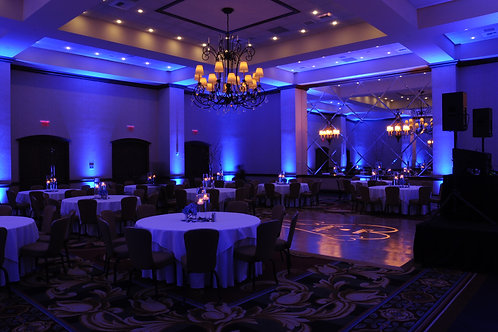 LED Uplighting rental
