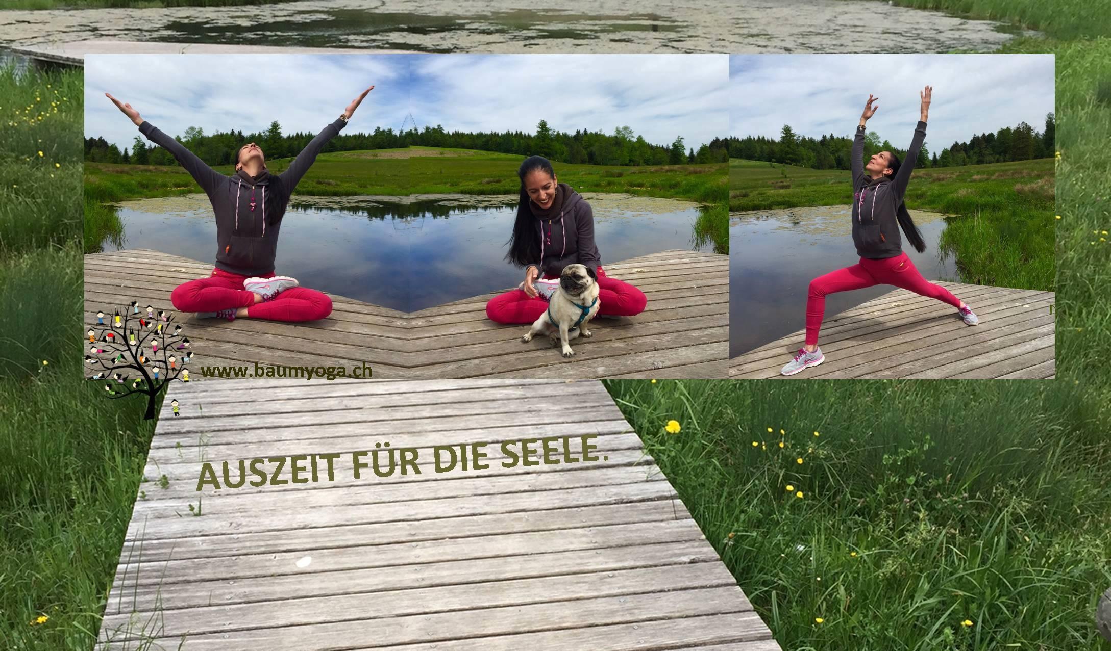 Auszeit Yoga in der Natur