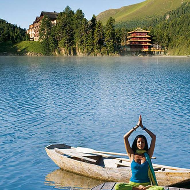 YOGA AM BERG (Yoga Wochen)