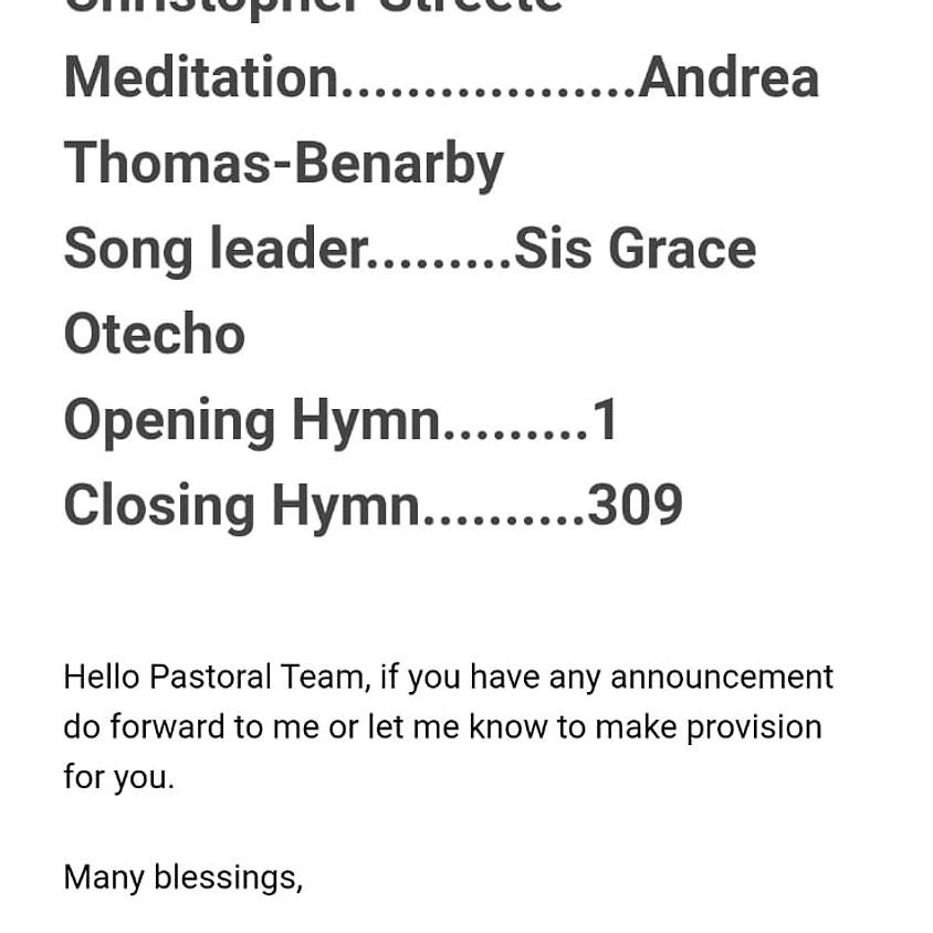 Oxford SDA church service 1st August (1)