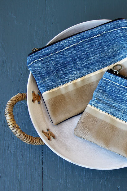 STITCH + STRAND handmade purses