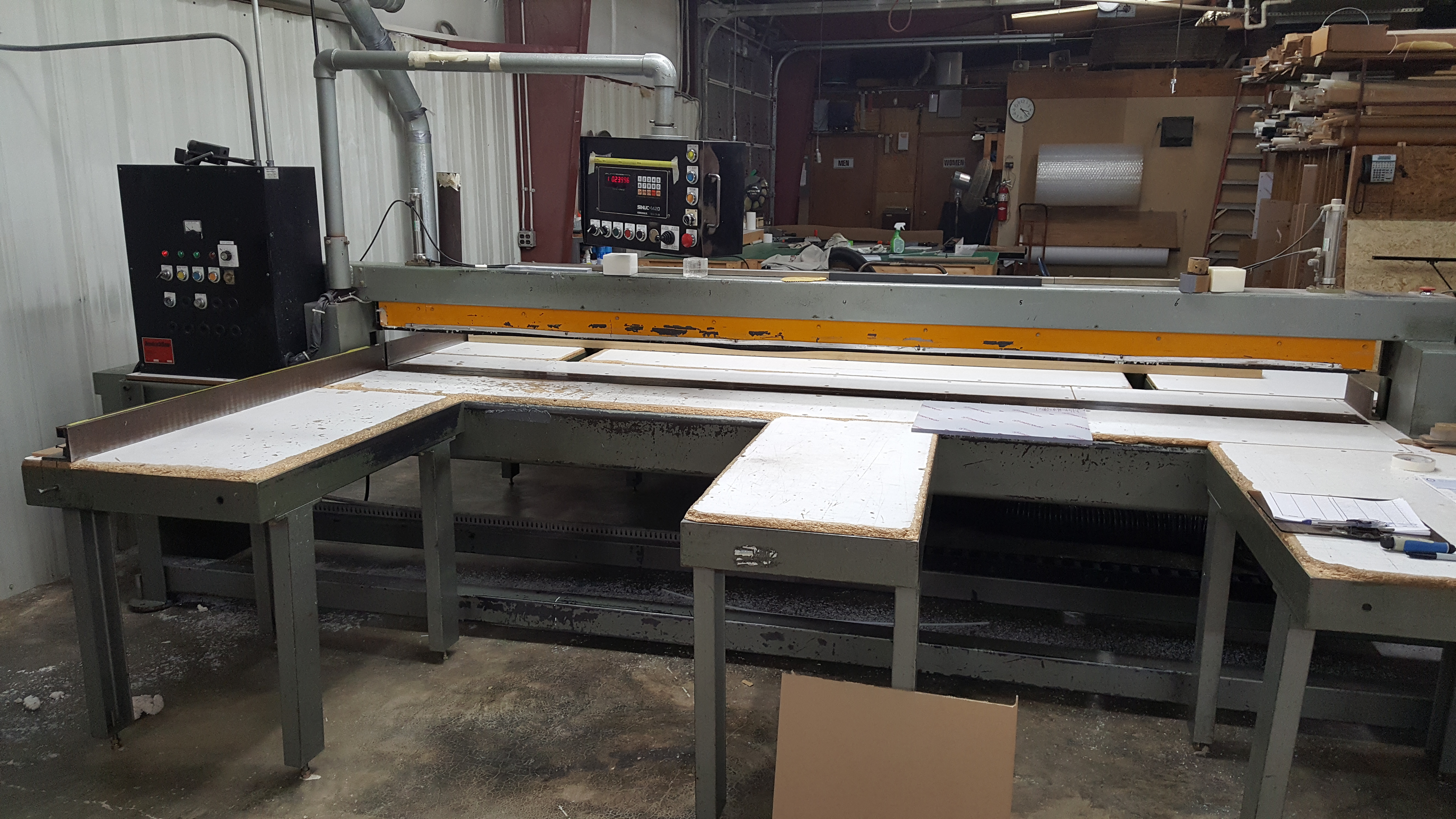 CNC Sawing Table 10' X 10'