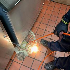 Burger King Hydro Jetting Drain In Floor Oakton VA
