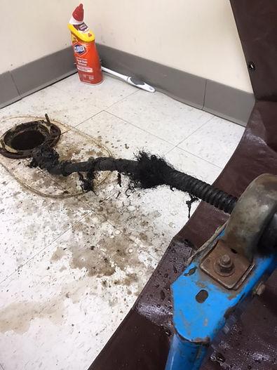 Suntrust-Arlington-clogged-drain-cabled-