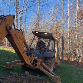 Sewer Line Replacement Large Equipment Fairfax VA