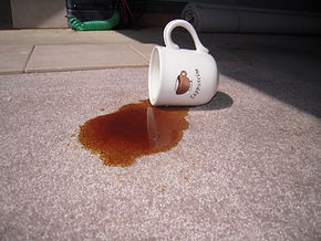 Remove tough carpet stains
