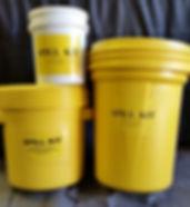 OILY RAGS, UNIVERSAL ABSORBANTS, 20 GALLON SPILL KIT, 30 GALLON SPILL KIT, GAS, OIL, WASTE ANTIFREEZE