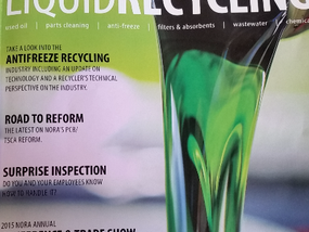 NORA Promotes Antifreeze Recycling