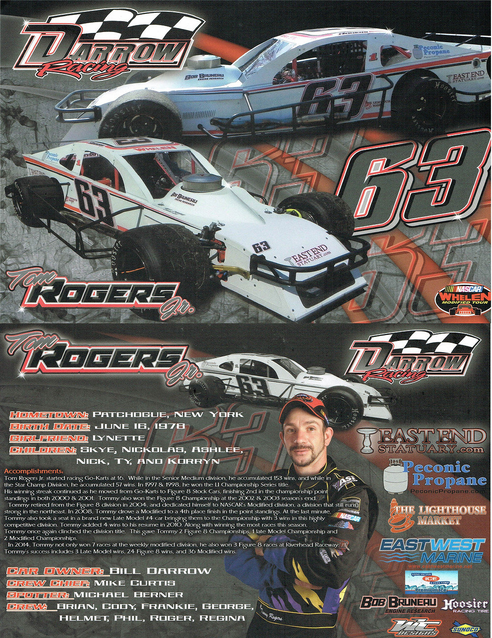 Darrow Racing - Whelen Modified Tour - #63 Tom Rogers Jr.jpg