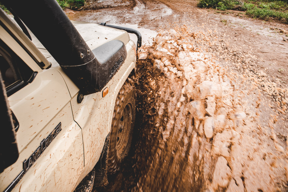 Rough rough roads