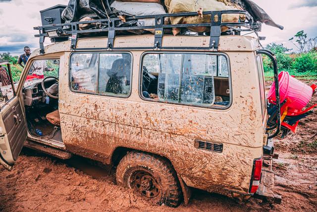 Stuck in the mud again