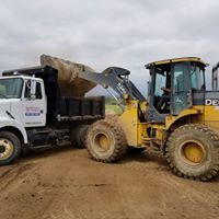 Excavation project near Loveland