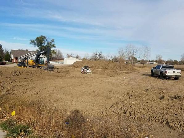 earthwork contractor - Jones Excavation near Loveland