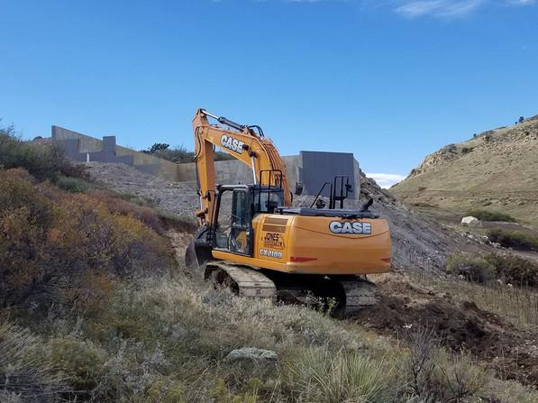 Hire excavating contractors