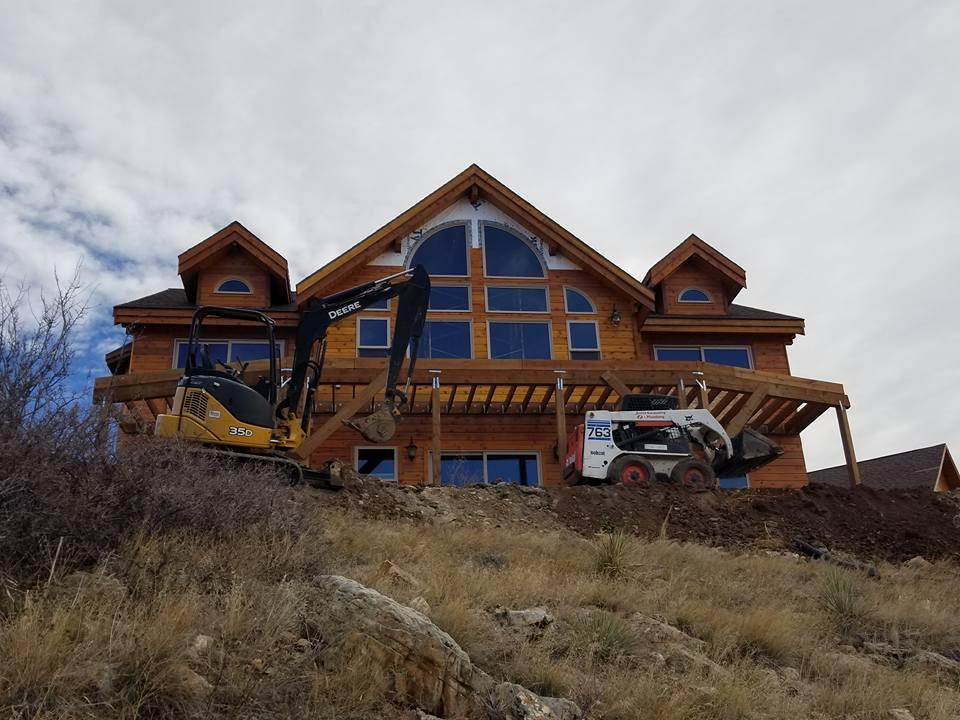 New Home excavation