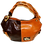 Thumbnail: Cerruti Black & Wet-look Leather Large Tote Bag