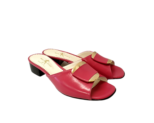 Abby, Mary Shoes pink low heel sandals