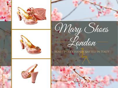Blush, dusty-pink medium block heel wedding shoes
