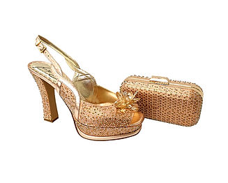 Salgati, Cinderella, rose-gold crystals