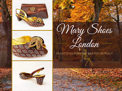 Chiara brown wedding shoes @Maryshoeslondon
